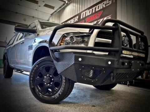 2016 RAM Ram Pickup 3500 for sale at Carder Motors Inc in Bridgeport WV
