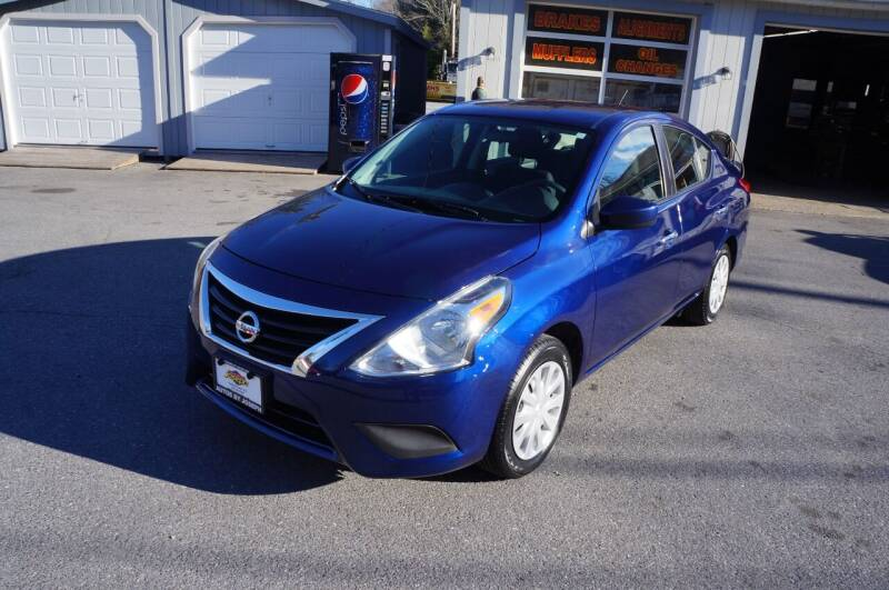 2019 Nissan Versa for sale at Autos By Joseph Inc in Highland NY