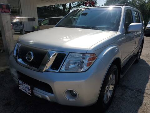 2008 Nissan Pathfinder for sale at New Wheels in Glendale Heights IL