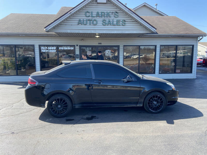 2009 Ford Focus for sale at Clarks Auto Sales in Middletown OH