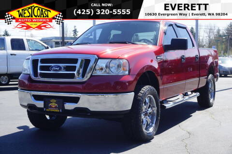 2008 Ford F-150 for sale at West Coast Auto Works in Edmonds WA