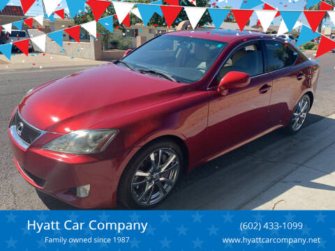 2006 Lexus IS 350 for sale at Hyatt Car Company in Phoenix AZ