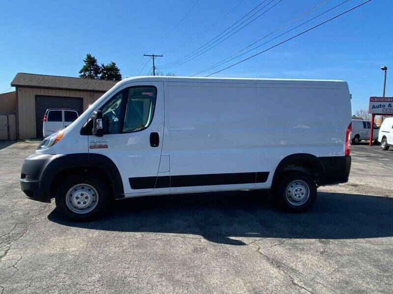 2019 RAM ProMaster Cargo for sale at Groesbeck TRUCK SALES LLC in Mount Clemens MI