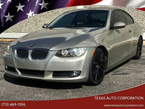 2009 BMW 3 Series for sale at Texas Auto Corporation in Houston TX