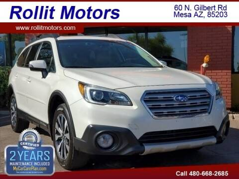 2016 Subaru Outback for sale at Rollit Motors in Mesa AZ