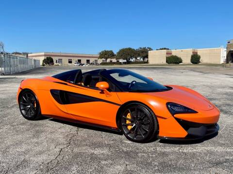 2018 McLaren 570S Spider for sale at EA Motorgroup in Austin TX