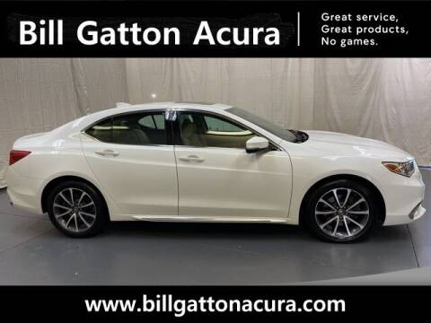 2018 Acura TLX for sale at Bill Gatton Used Cars - BILL GATTON ACURA MAZDA in Johnson City TN