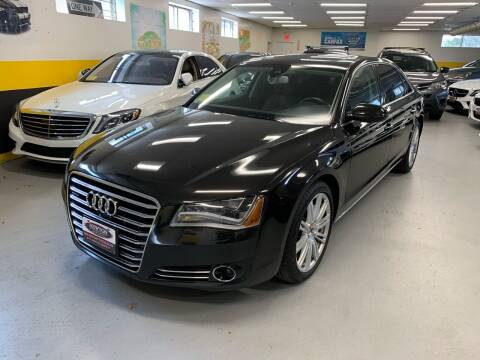 2014 Audi A8 L for sale at Newton Automotive and Sales in Newton MA
