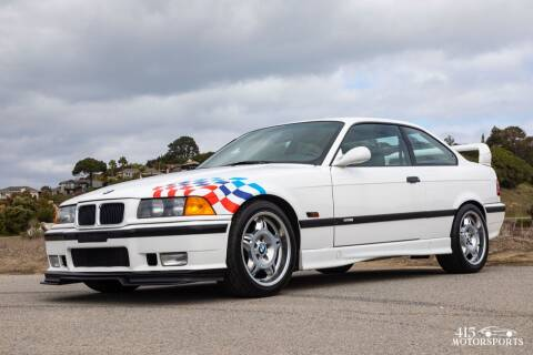 1995 BMW M3 for sale at 415 Motorsports in San Rafael CA