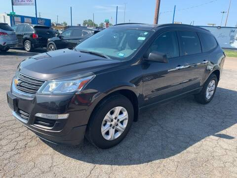 2016 Chevrolet Traverse for sale at Superior Used Cars LLC in Claremore OK
