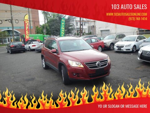 2010 Volkswagen Tiguan for sale at 103 Auto Sales in Bloomfield NJ