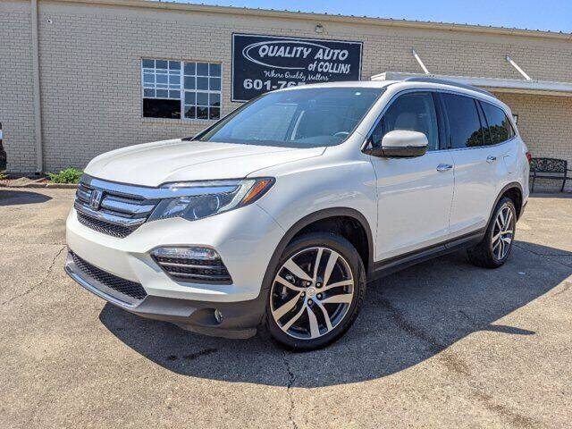 2017 Honda Pilot for sale at Quality Auto of Collins in Collins MS