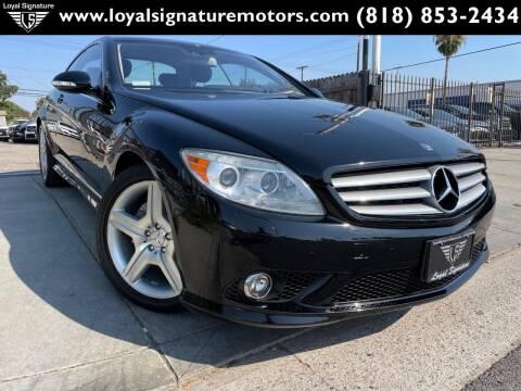 2007 Mercedes-Benz CL-Class for sale at Loyal Signature Motors Inc. in Van Nuys CA