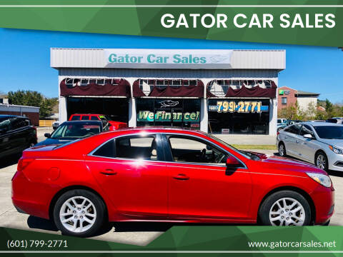 2013 Chevrolet Malibu for sale at Gator Car Sales in Picayune MS