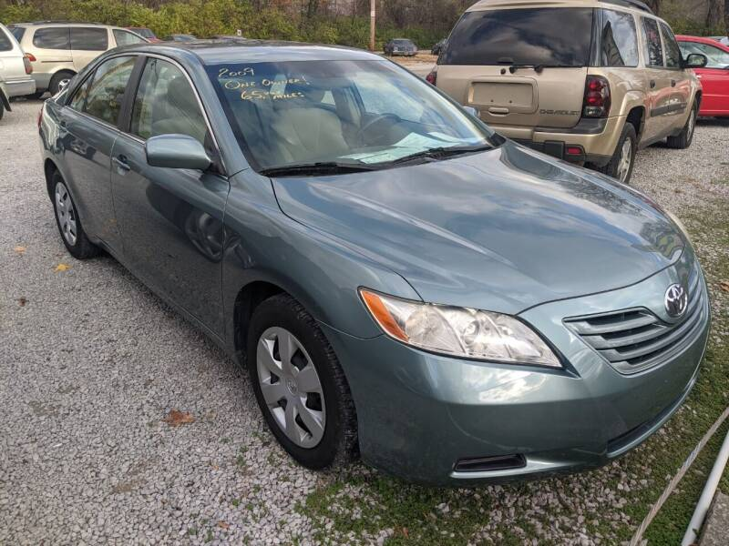 2009 Toyota Camry for sale at AUTO PROS SALES AND SERVICE in Belleville IL
