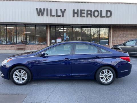 2013 Hyundai Sonata for sale at Willy Herold Automotive in Columbus GA