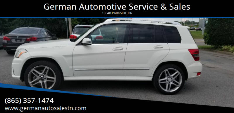 2011 Mercedes-Benz GLK for sale at German Automotive Service & Sales in Knoxville TN
