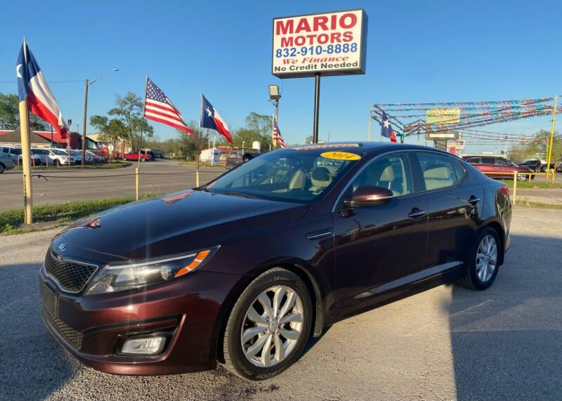 2014 Kia Optima for sale at Mario Motors in South Houston TX