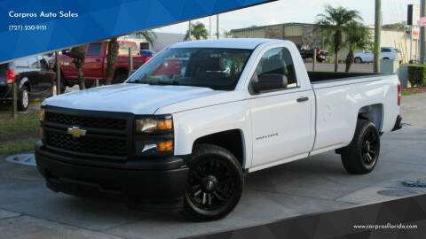 2015 Chevrolet Silverado 1500 for sale at Carpros Auto Sales in Largo FL