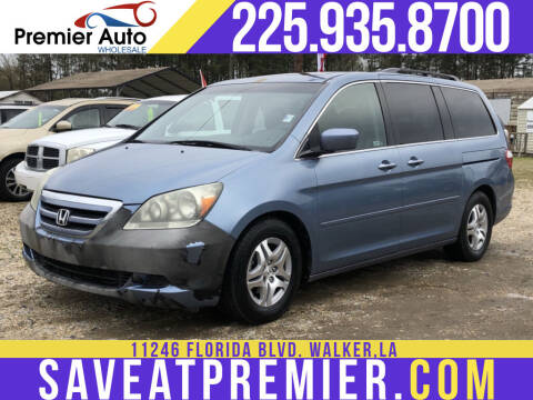 2007 Honda Odyssey for sale at Premier Auto Wholesale in Baton Rouge LA