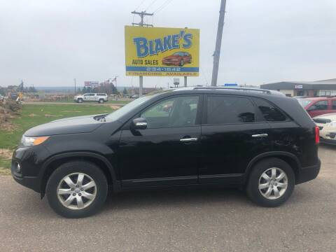 2013 Kia Sorento for sale at Blakes Auto Sales in Rice Lake WI