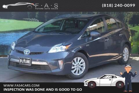 2013 Toyota Prius Plug-in Hybrid for sale at Best Car Buy in Glendale CA