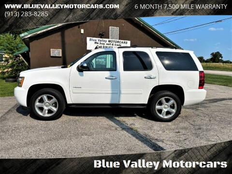 2013 Chevrolet Tahoe for sale at Blue Valley Motorcars in Stilwell KS