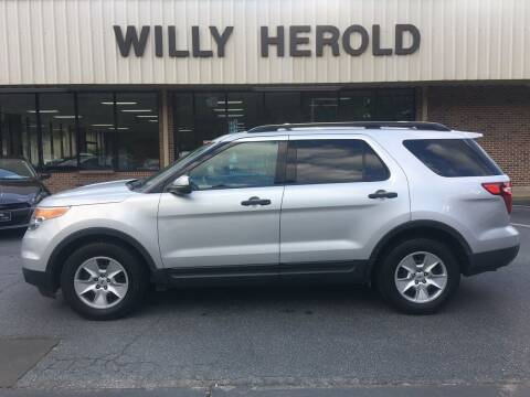 2012 Ford Explorer for sale at Willy Herold Automotive in Columbus GA