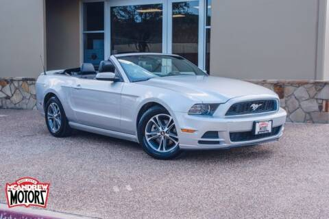 2014 Ford Mustang for sale at Mcandrew Motors in Arlington TX