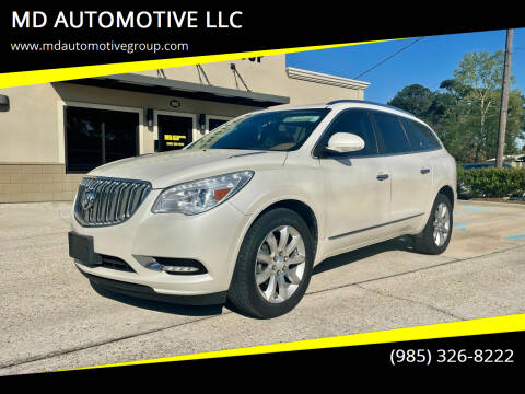 2014 Buick Enclave for sale at MD AUTOMOTIVE LLC in Slidell LA