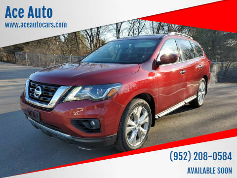 2018 Nissan Pathfinder for sale at Ace Auto in Jordan MN