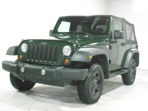 2010 Jeep Wrangler for sale at Ohio Motor Cars in Parma OH