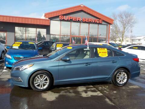 2015 Hyundai Sonata for sale at Super Service Used Cars in Milwaukee WI