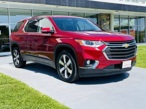 2018 Chevrolet Traverse for sale at RUSTY WALLACE CADILLAC GMC KIA in Morristown TN