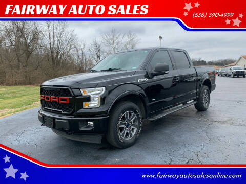 2017 Ford F-150 for sale at FAIRWAY AUTO SALES in Washington MO