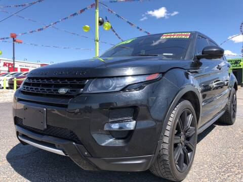 2015 Land Rover Range Rover Evoque for sale at 1st Quality Motors LLC in Gallup NM