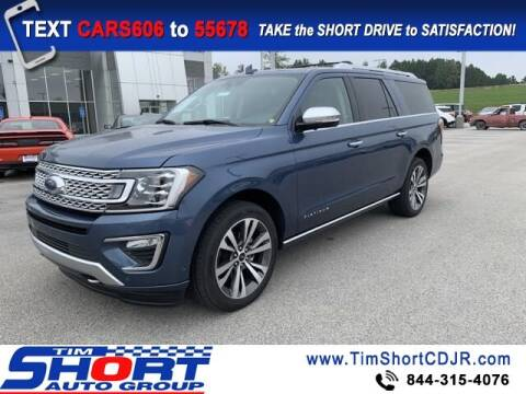 2020 Ford Expedition MAX for sale at Tim Short Chrysler in Morehead KY