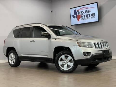 2014 Jeep Compass for sale at Texas Prime Motors in Houston TX