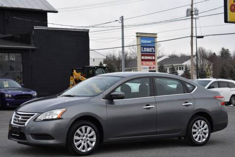 2015 Nissan Sentra for sale at Broadway Garage of Columbia County Inc. in Hudson NY