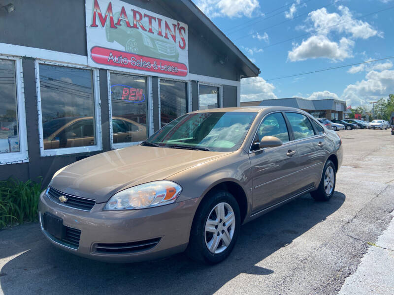 2007 Chevrolet Impala for sale in Shelbyville, KY