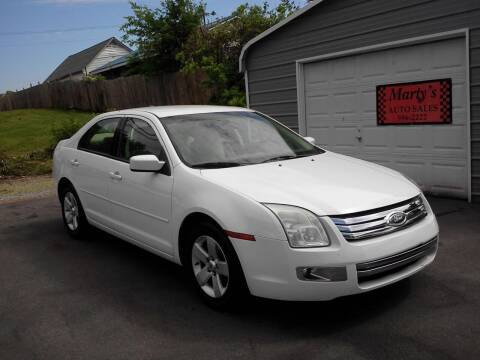 2007 Ford Fusion for sale at Marty's Auto Sales in Lenoir City TN