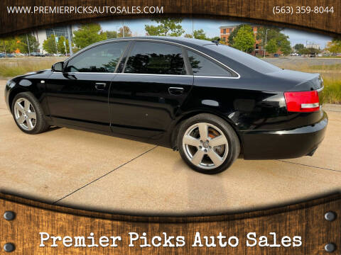 2008 Audi A6 for sale at Premier Picks Auto Sales in Bettendorf IA