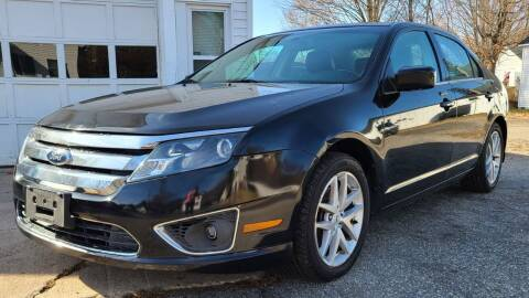 2012 Ford Fusion for sale at JR AUTO SALES in Candia NH