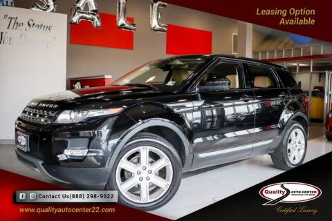 2015 Land Rover Range Rover Evoque for sale at Quality Auto Center of Springfield in Springfield NJ
