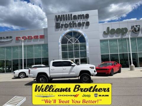 2020 Toyota Tacoma for sale at Williams Brothers - Pre-Owned Monroe in Monroe MI