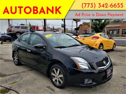 2014 Nissan Sentra for sale at AutoBank in Chicago IL