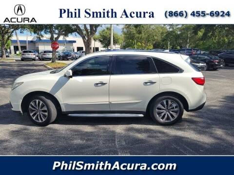 2014 Acura MDX for sale at PHIL SMITH AUTOMOTIVE GROUP - Phil Smith Acura in Pompano Beach FL