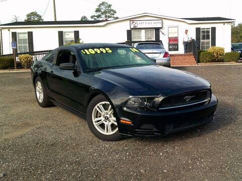 2014 Ford Mustang for sale at Let's Go Auto Of Columbia in West Columbia SC