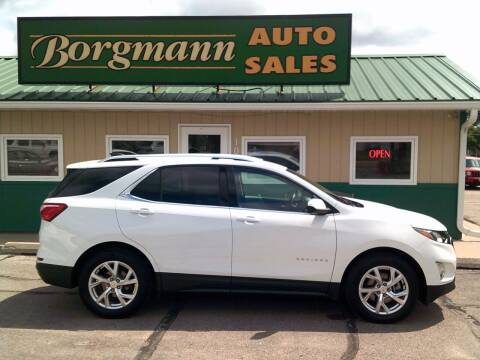 2019 Chevrolet Equinox for sale at Borgmann Auto Sales in Norfolk NE