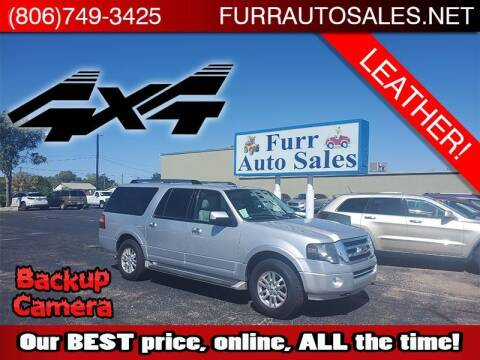 2014 Ford Expedition EL for sale at FURR AUTO SALES in Lubbock TX